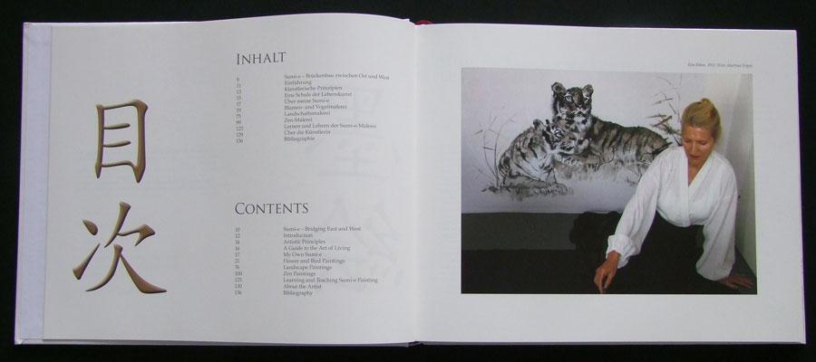 Sumi-e Book - Contents