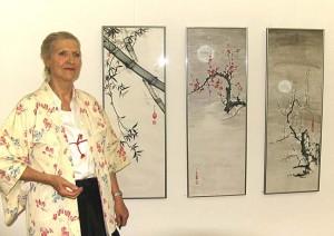 Sumi-e Exhibition - datGalerie 2013